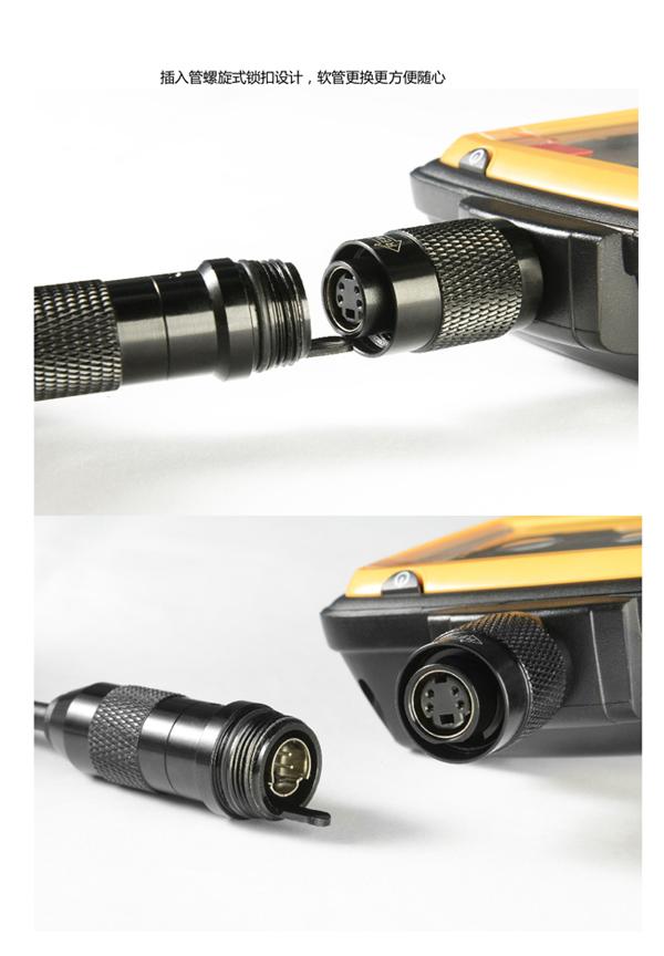 亞泰光電YE系列工業內窺鏡攝像模組采用進口攝像頭,保證了圖片的高清晰度