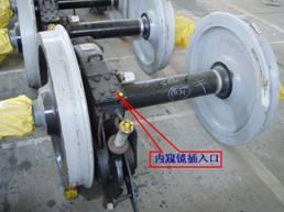 工业内窥镜用于齿轮箱检测