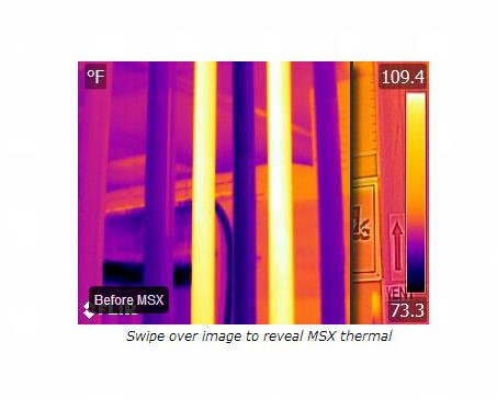 红外热像仪拍摄图