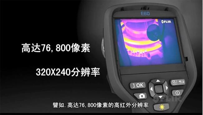 320*240分辨率,高达76800像素